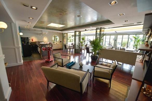 Restaurante del hotel the villa arena - interior