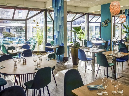 de Novotel Marseille - Restaurante