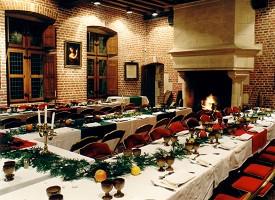 Chateau du Clos Luce Amboise Banquete