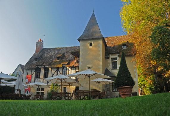 Fachada de Chateau du Clos Luce Amboise
