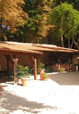 Chateau du Clos Luce Amboise Terraza 3