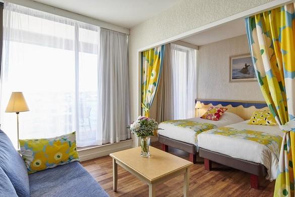 Le grand large de biarritz - dormitorio