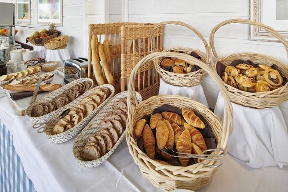 Le grand large de biarritz - desayuno