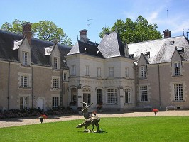 Chateau de Razay - Fachada