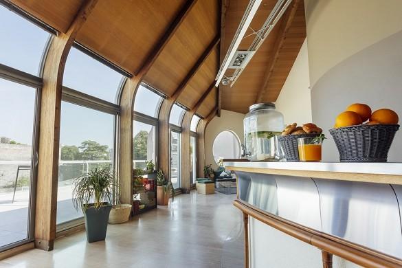 Angers terrace - interior