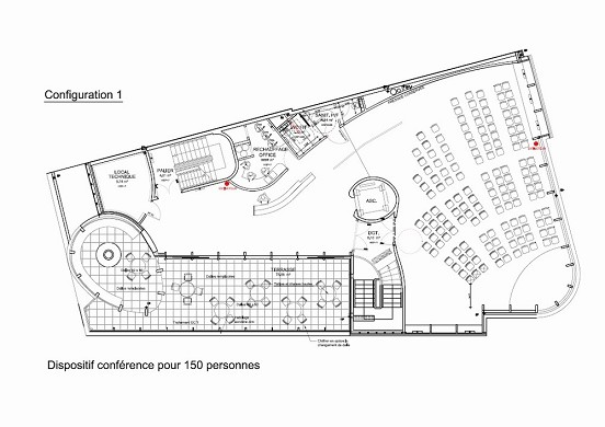 Angers terrace - plan