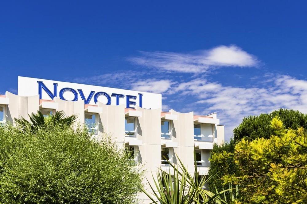 Novotel nice airport cap 3000 - facade