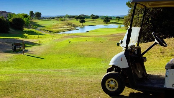 The golf pavilion - golf