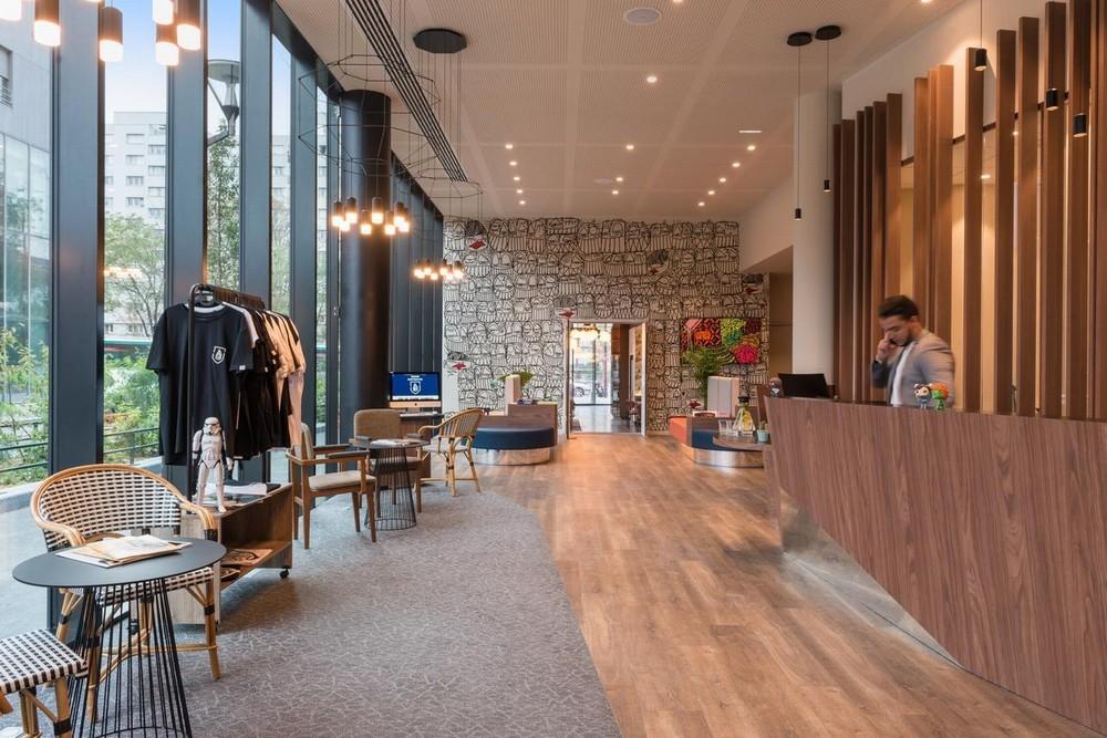The originals boutique, hotel house montmartre - reception