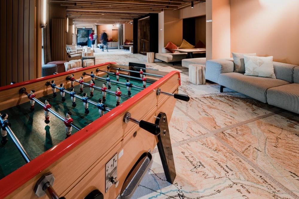 La dolce follia degli hotel di Chamonix - area relax