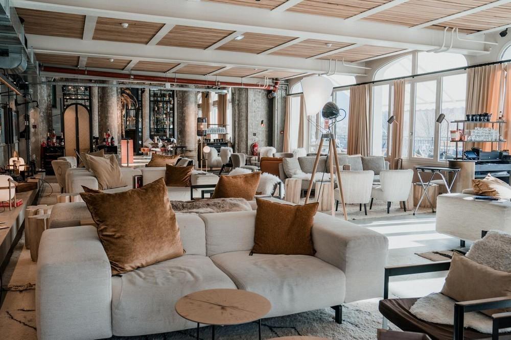 The sweet madness hotels chamonix - hall