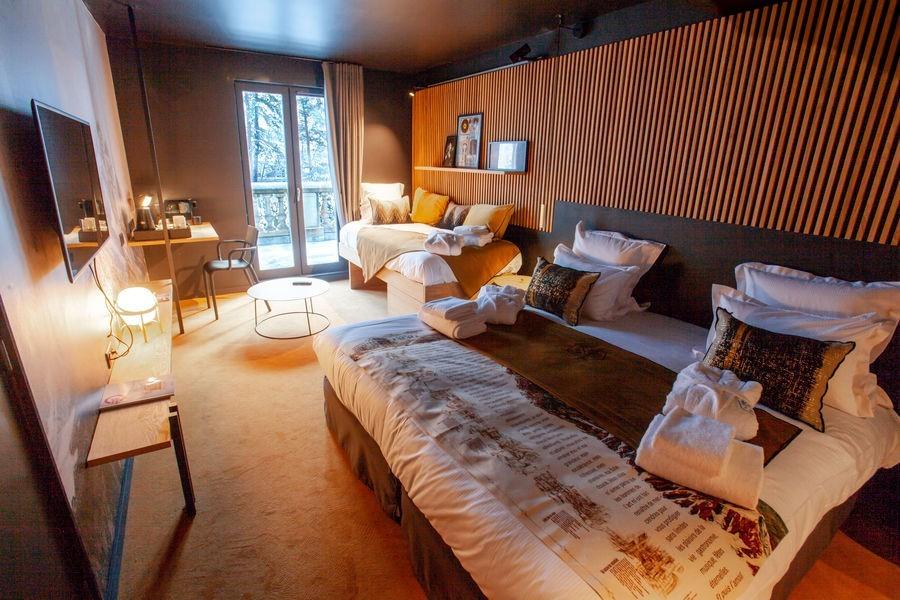 La folie douce hotels chamonix - hébergement