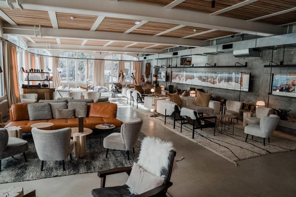 The sweet madness hotels chamonix - salon