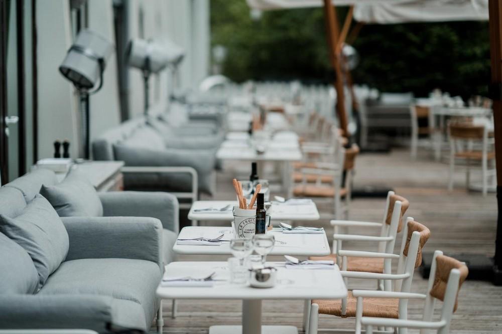 La dolce follia degli hotel di Chamonix - terrazza