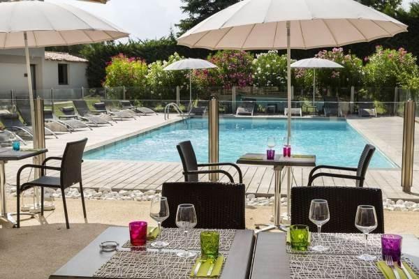 Best western elixir grasso - terrazza della piscina