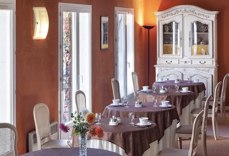 Hotel parc di Orleans - sala colazioni