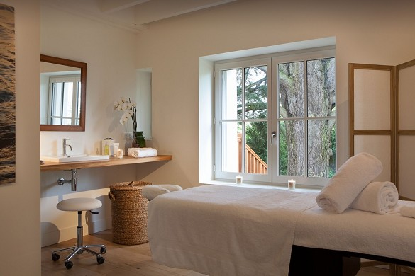 Domaine de la tortiniere - wellness area cocooning