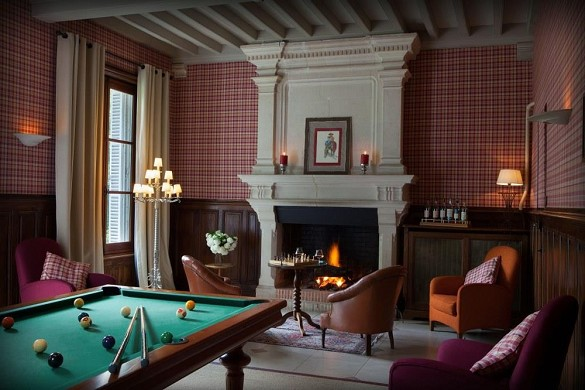 Domaine de la tortiniere - billiards / meeting room