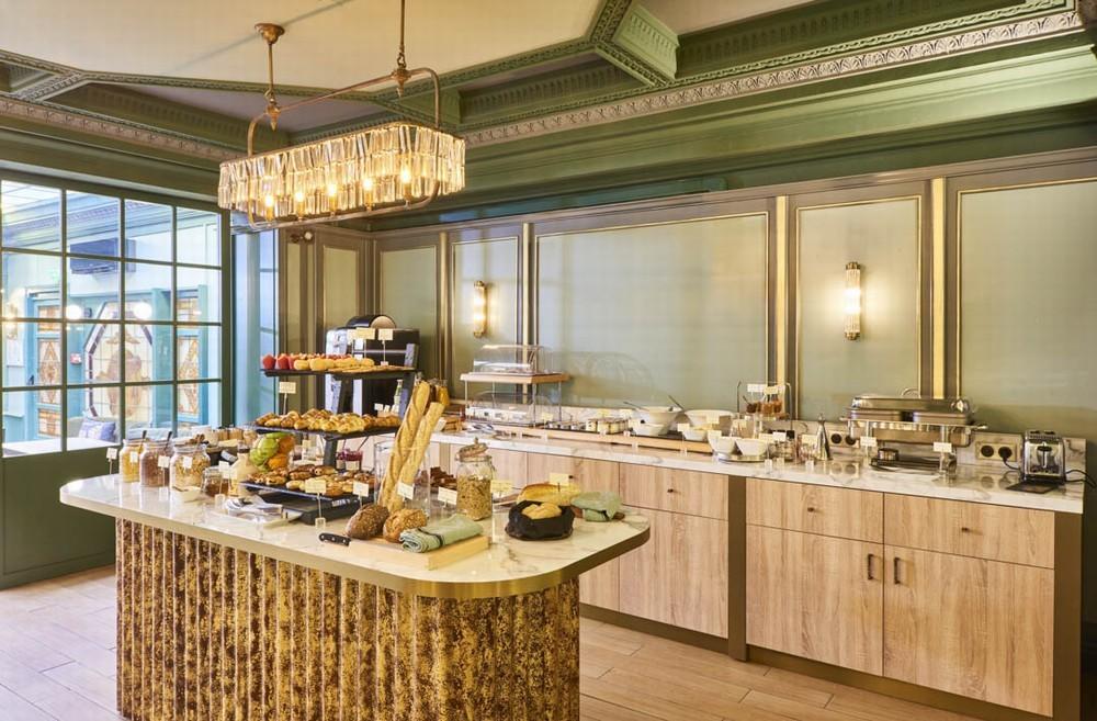 Hotel konti - colazione