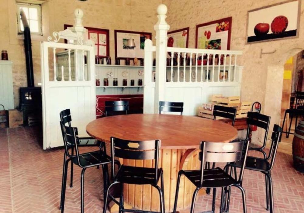 Salón de té - Chateau de La Bourdaisiere