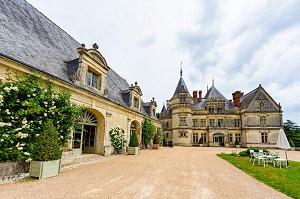 Chateau de La Bourdaisiere - Außenansicht