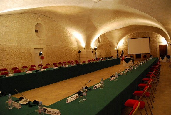 Chateau de la bourdaisiere - sala de seminarios
