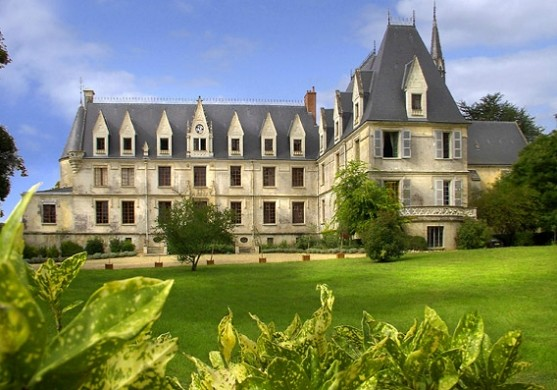 Chateau de reignac on outside Indre