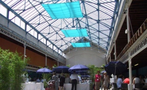 The fauriel canopy - interior
