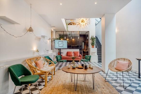 Eco-friendly artist loft - 3.brainstorm