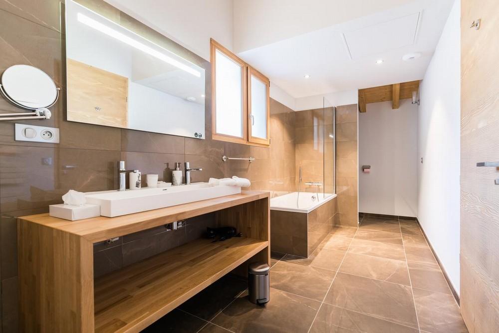 Las puertas de megève - baño