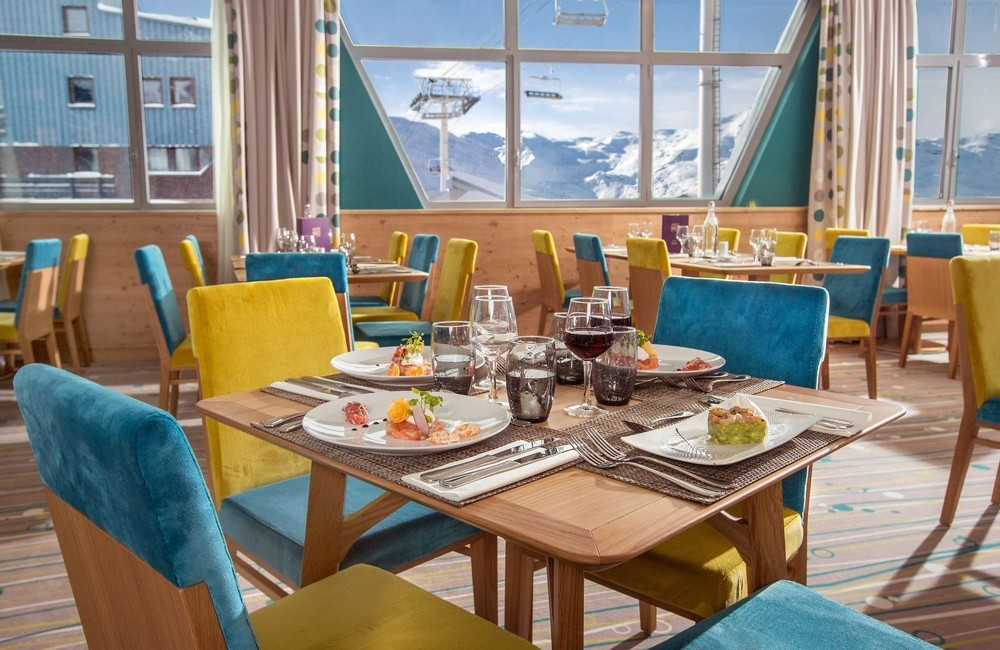 Club med val thorens sensations - restaurant