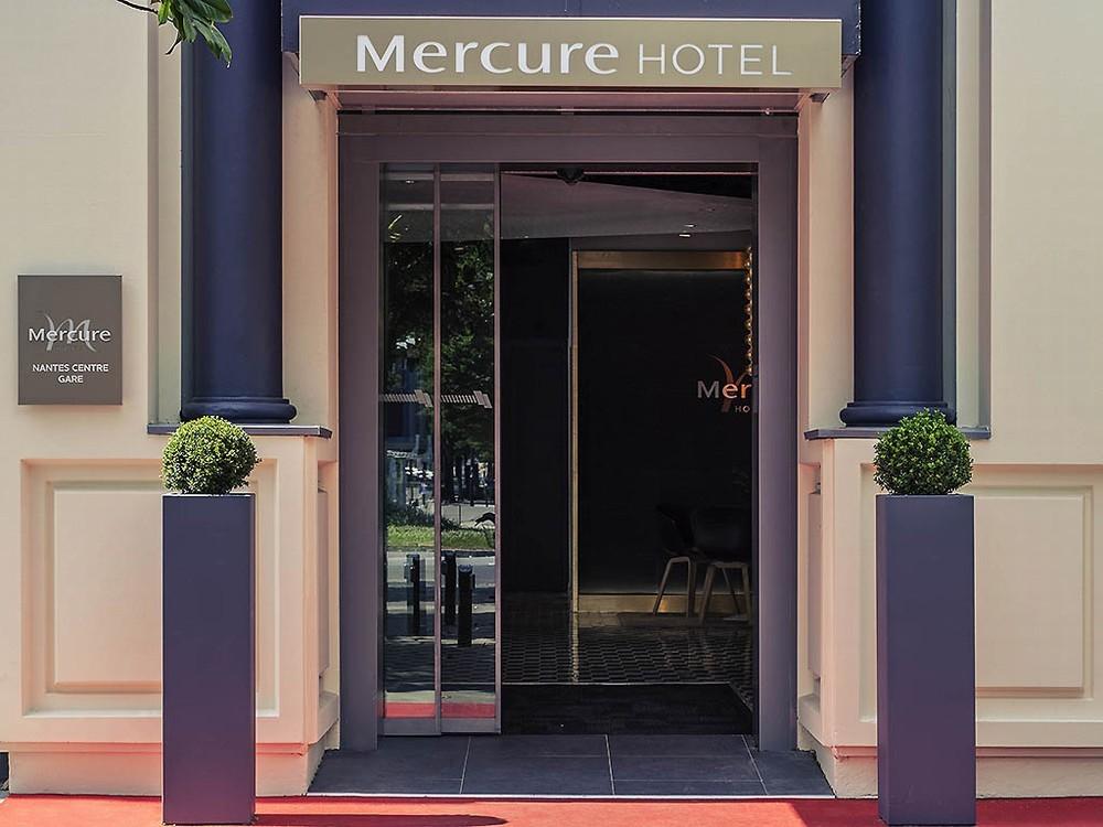 Mercure Nantes Center Station - home