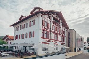 Restaurante del hotel Trinquet Berria - Exterior