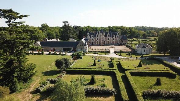 Chateau de Jallanges - jardín