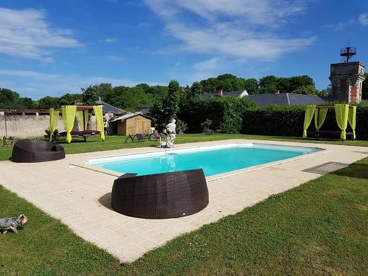 Chateau de Jallanges - piscina