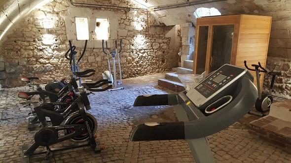 Chateau de Jallanges - gym