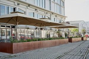 Café Maritime Bordeaux - Außenansicht