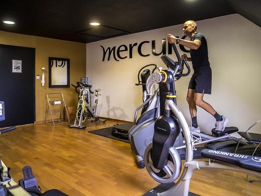 Mercure banks of the Loire Saumur - gym