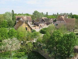 Sala de seminarios: Ecomusée d'Alsace -