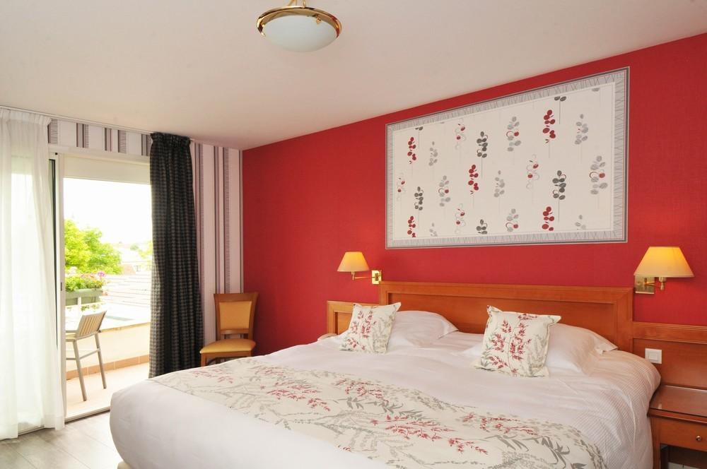 Hostellerie du Mont amore - camera da letto