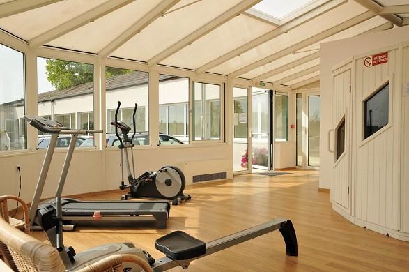 Hostellerie du mont aime - fitness room