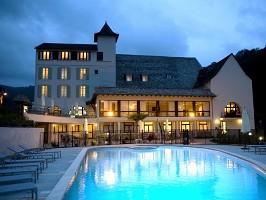 Hôtel la Rivière - La sera