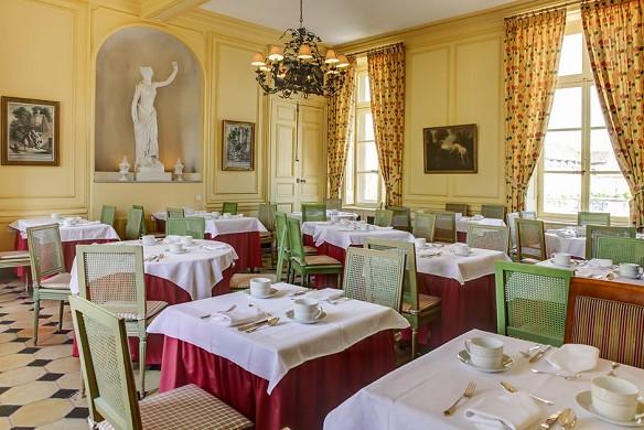 Chateau d'etoges - Restaurant