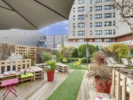 Novotel Suites Paris Montreuil Vincennes - Terrace