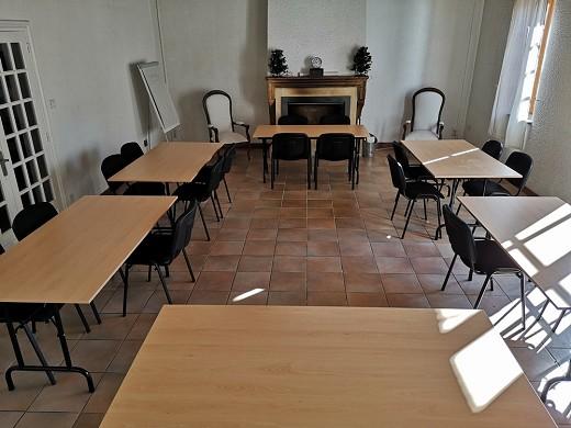 Escampette farmhouse - meeting room