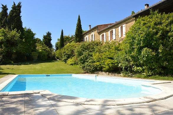 Escampette farmhouse - swimming pool