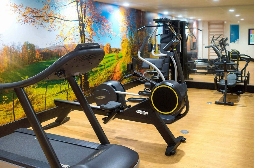 Quality hotel amiens - salle de fitness