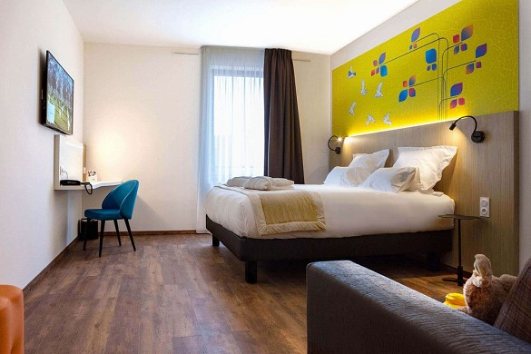 Quality hotel amiens - chambre