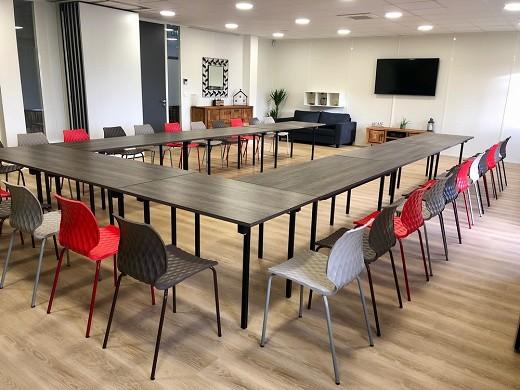 Trabajo dulce hogar - sala de reuniones