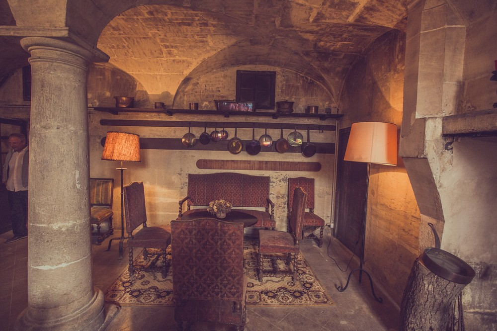 Vaulted cellar n ° 1 - Château de Guiry